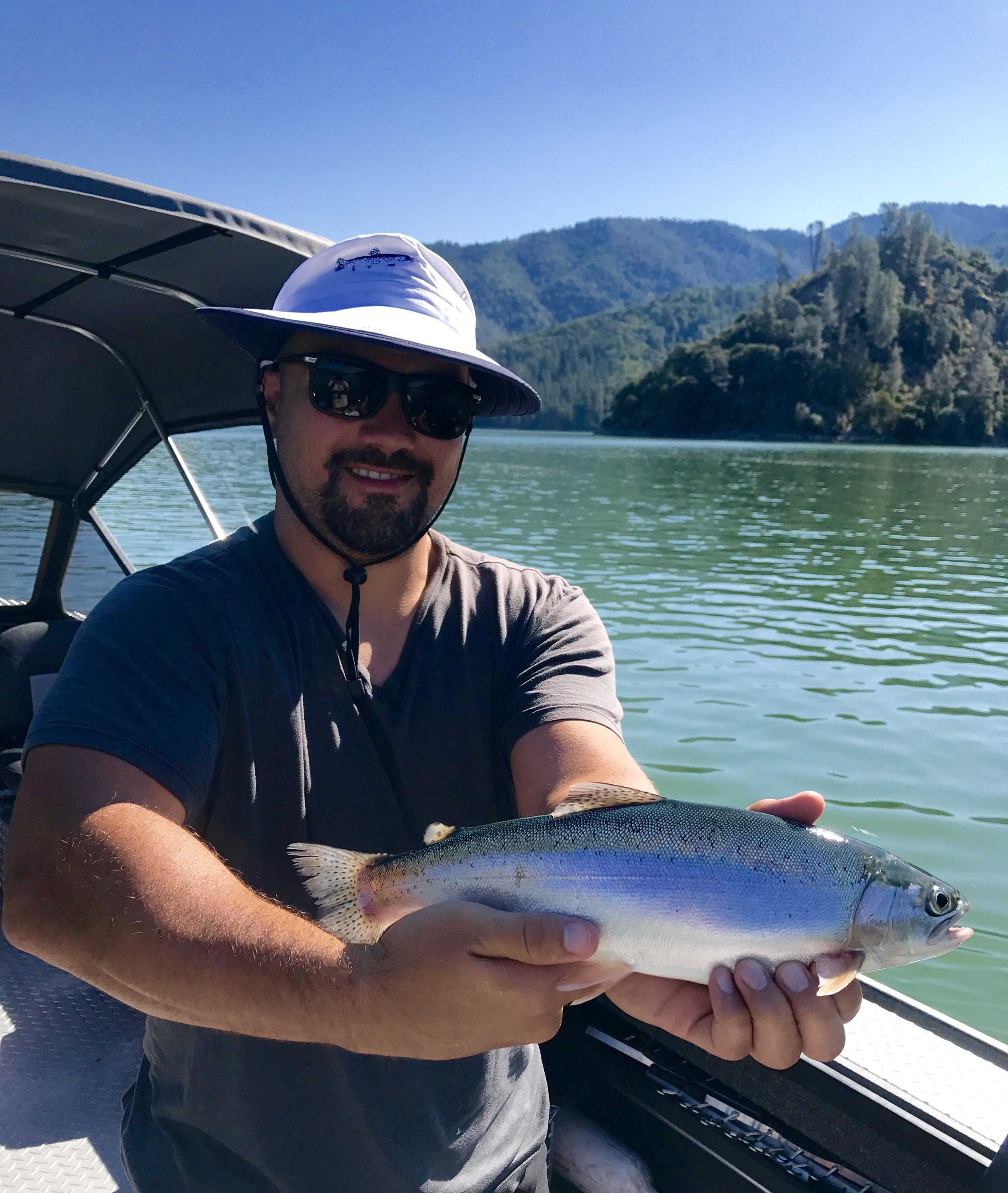 Shasta Lake rainbow trout!