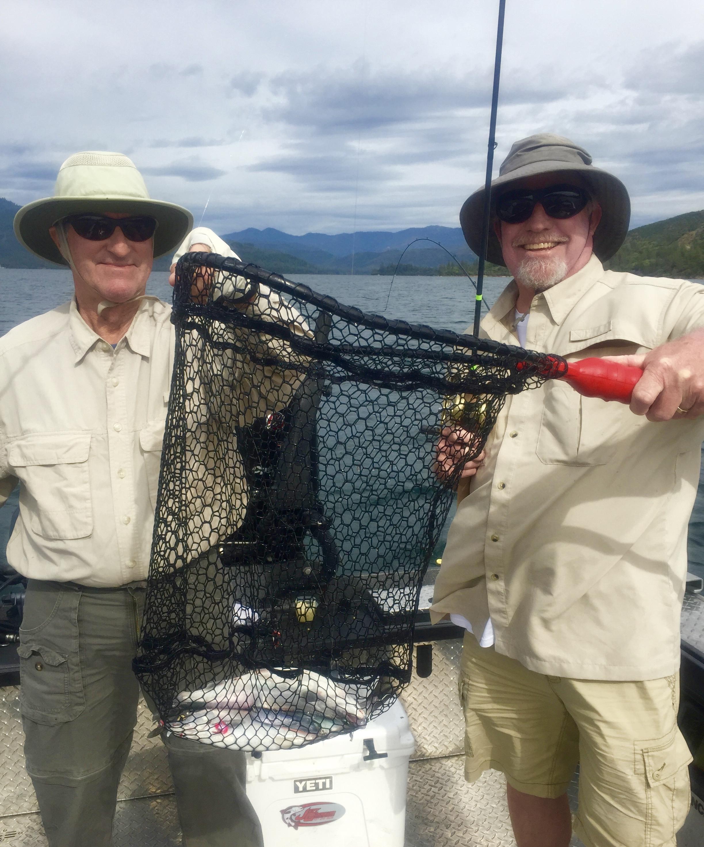 Whiskeytown Lake has become California's Kokanee fishing destination!