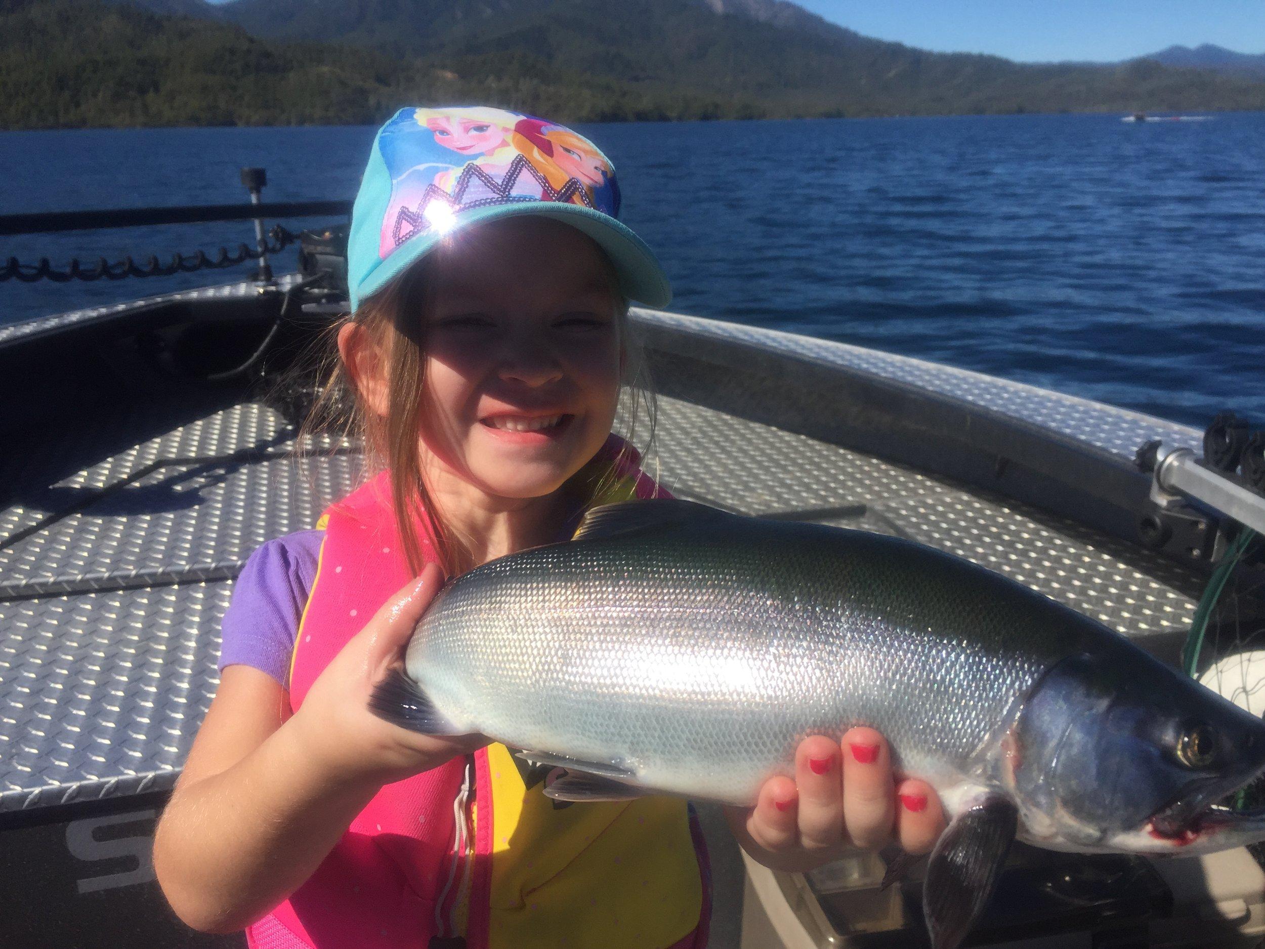 Wiskeytown Lake Fishing