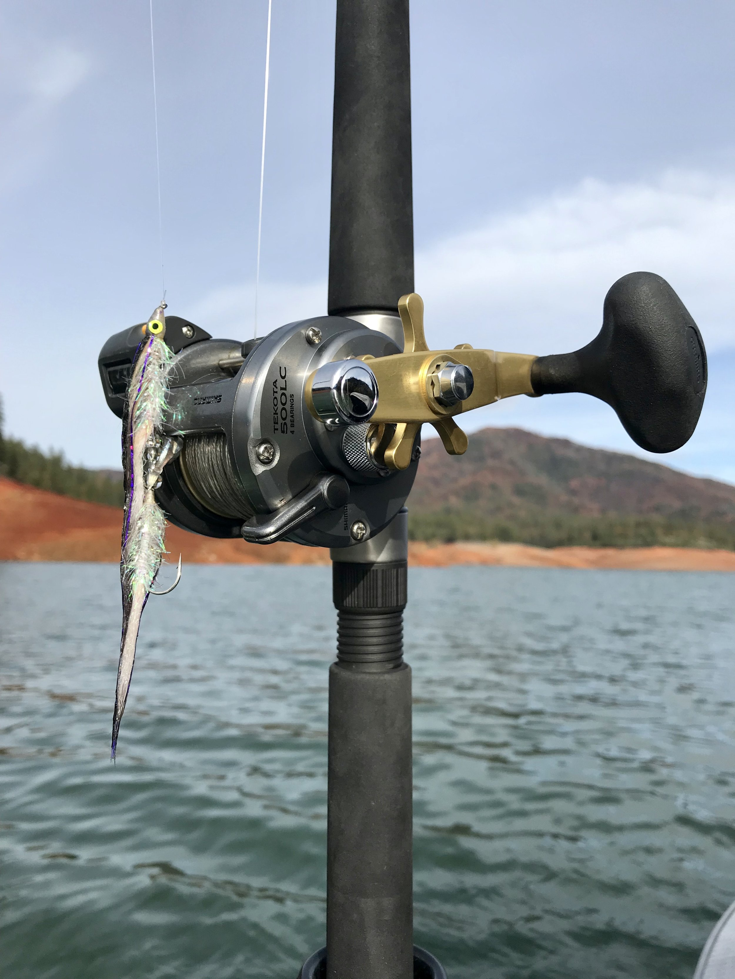 Only top shelf rods, reels, and terminal tackle will be supplied for our valued guests during your day of fishing with us.