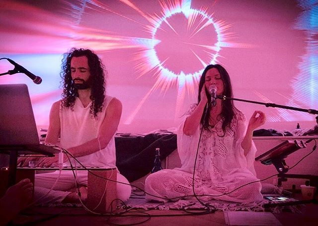 Saturday 7:30-9:30PM Lay down and enjoy @ayaandtyler live chill out music @woomcenter w/ state of the art surround sound + light system 🔊✨✨✨last month was sold out so advanced tickets are highly recommended! . sign up at woomcenter.com