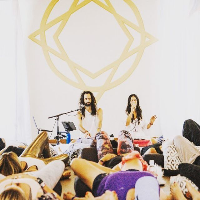 Grateful to be working today with @aya_music_ Stay tuned for new music @aya_and_tyler ! 📷 by @esphotonyc @wanderlustfest