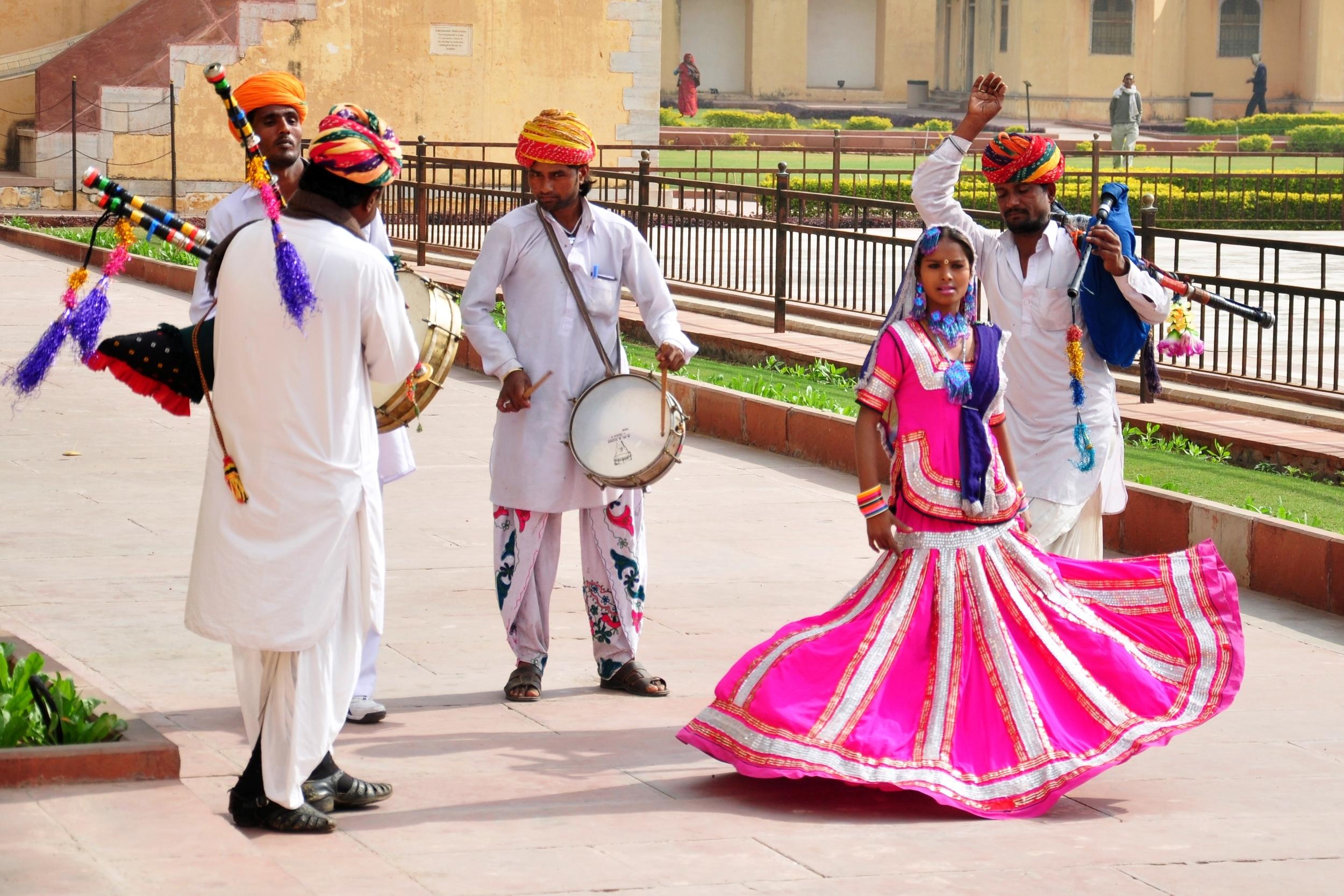 Dancing at Jantar Mantar