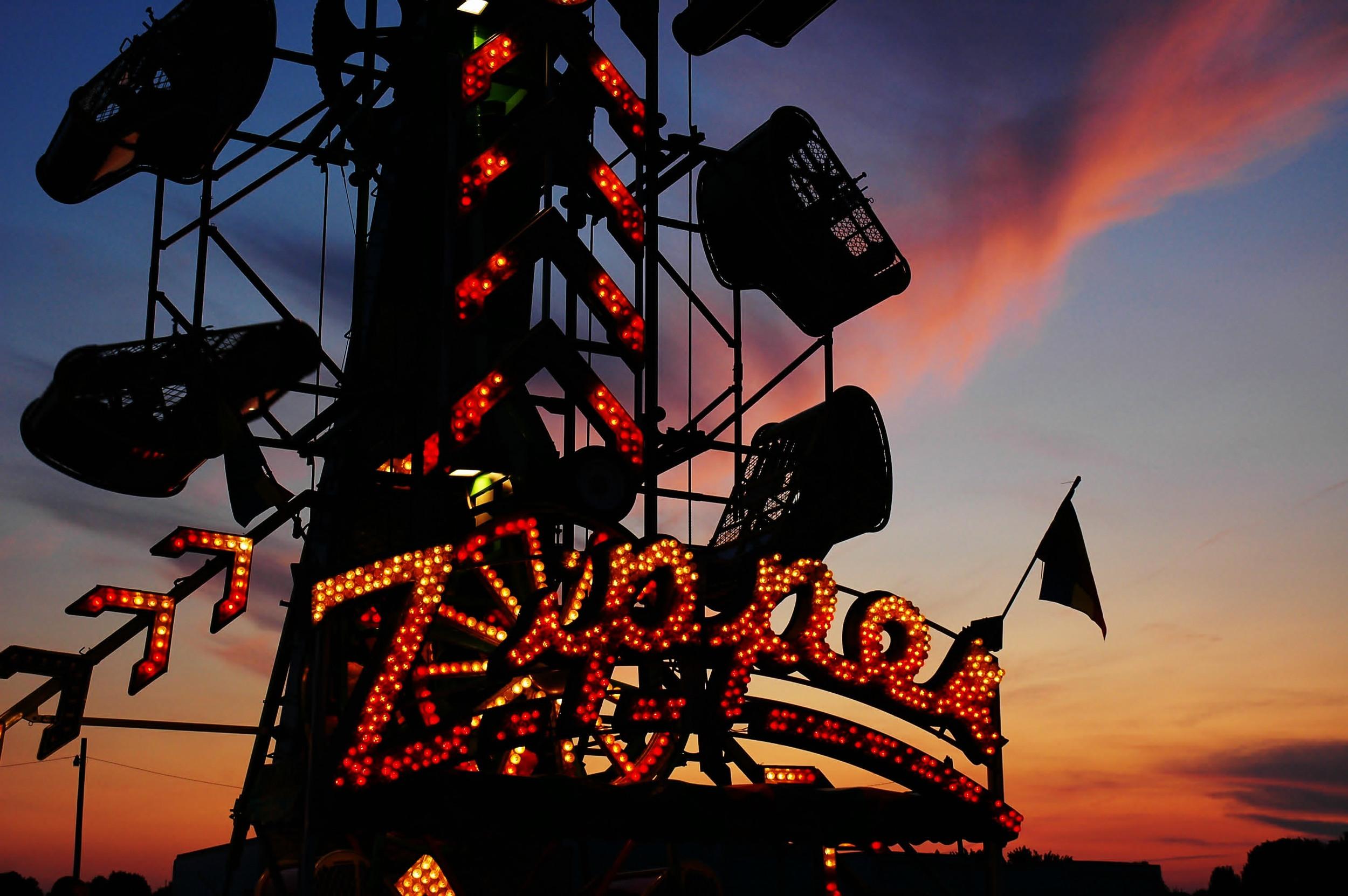 The Zipper, Johnson County Fair, Indiana