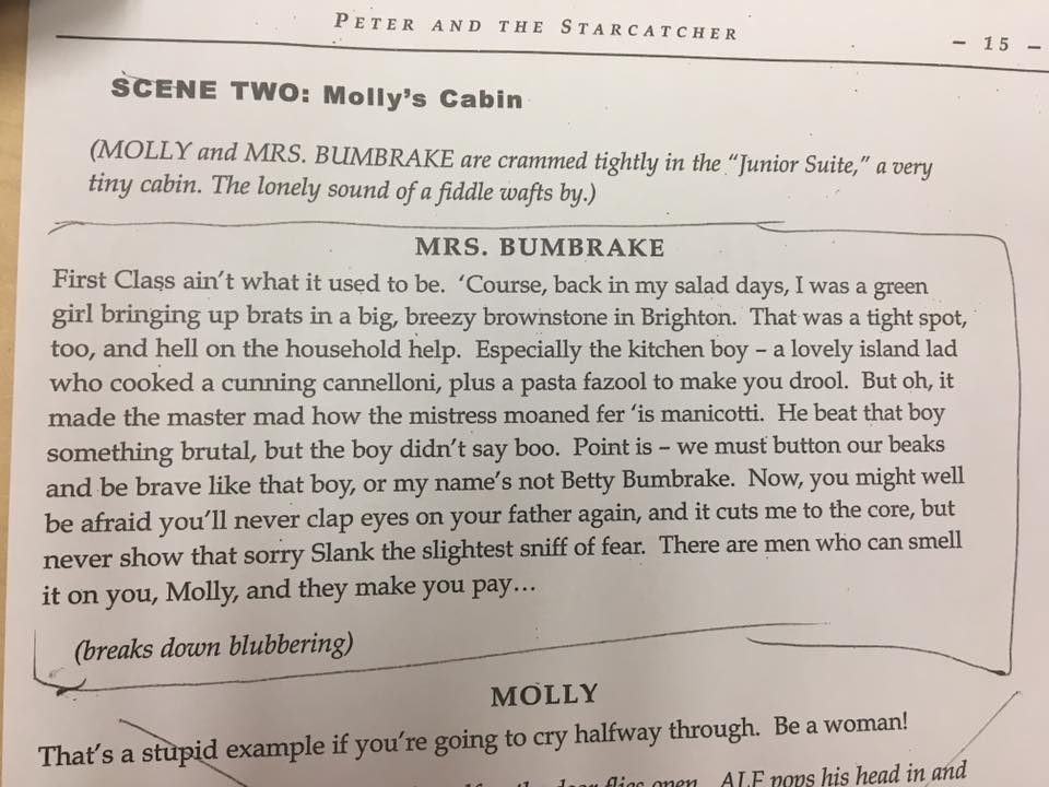 Monologue: Mrs. Bumbrake