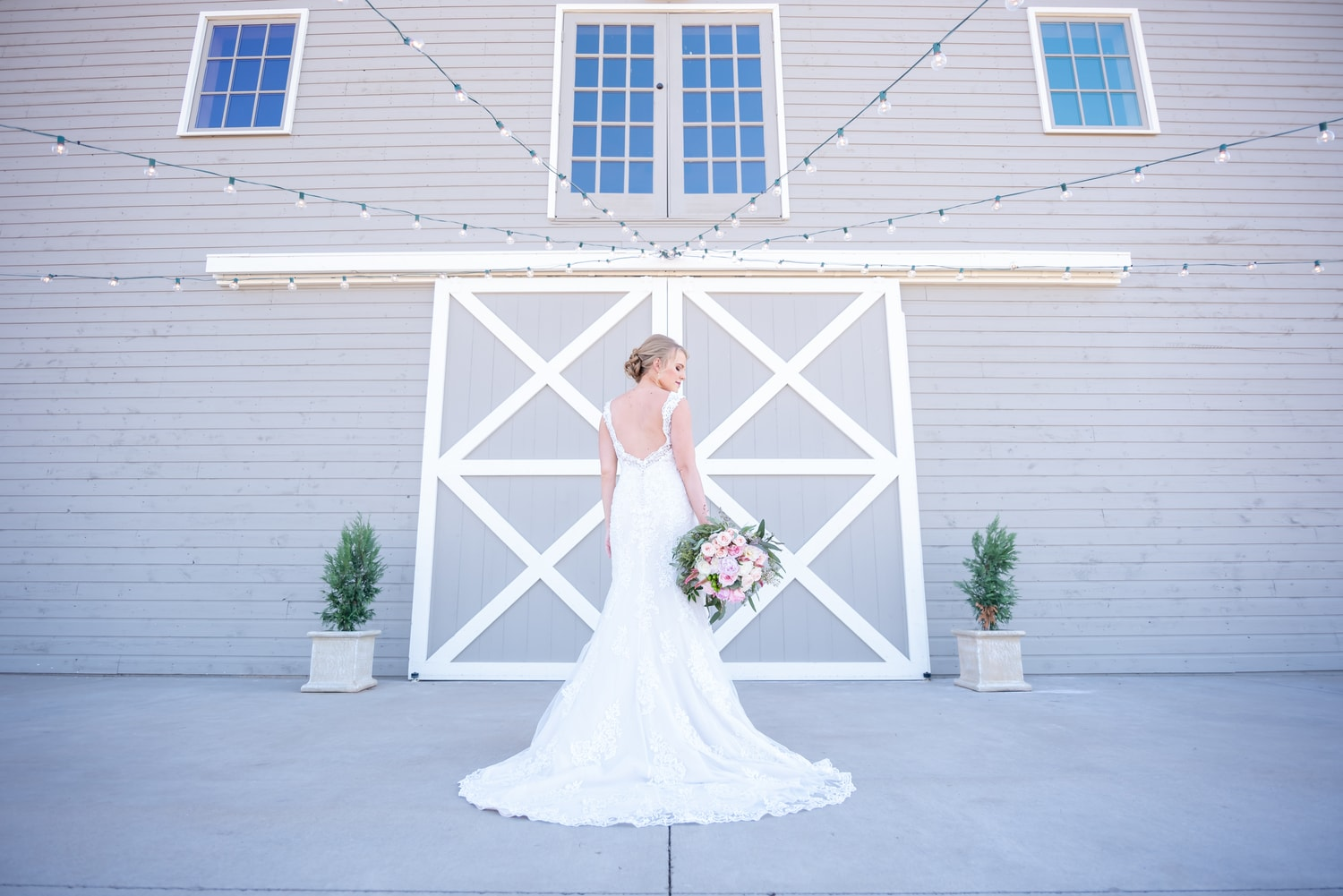 McGranahan Barn Bride