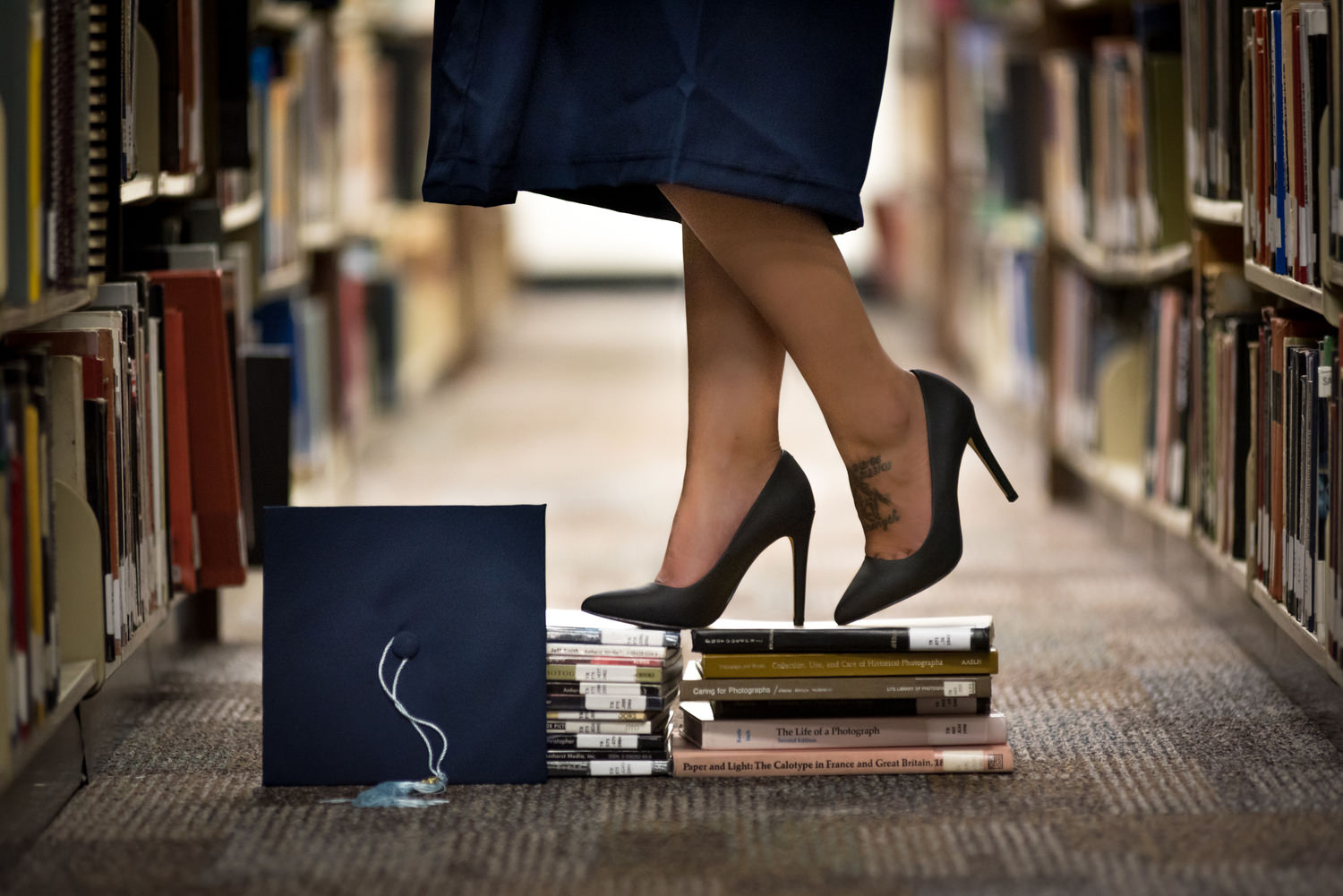 Heels on Books