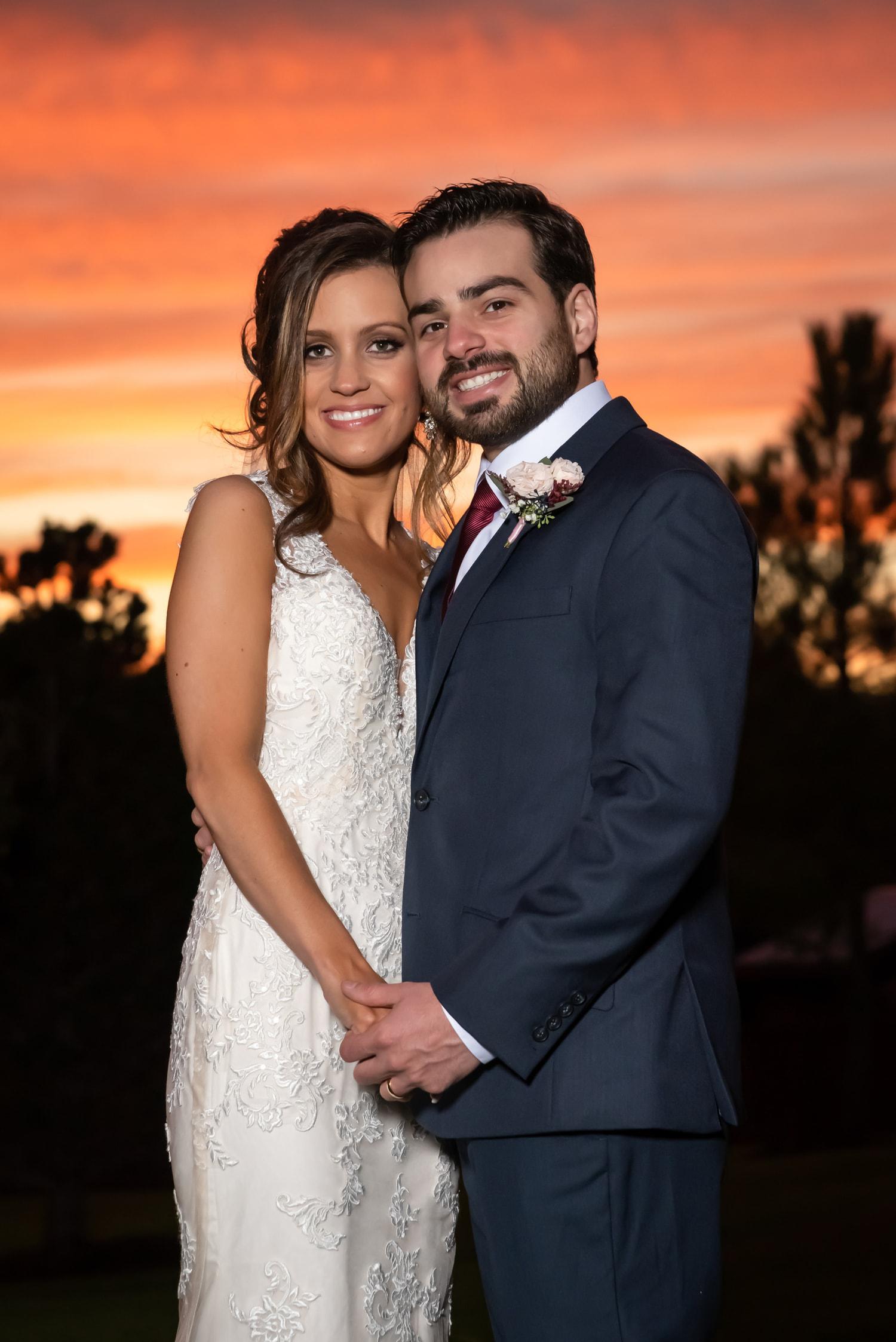 bride-groom-formal-portrait-sunset-orange-beautiful-chadandbriephotography.jpg