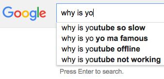 Youtube: 3. Yo-Yo: 1.