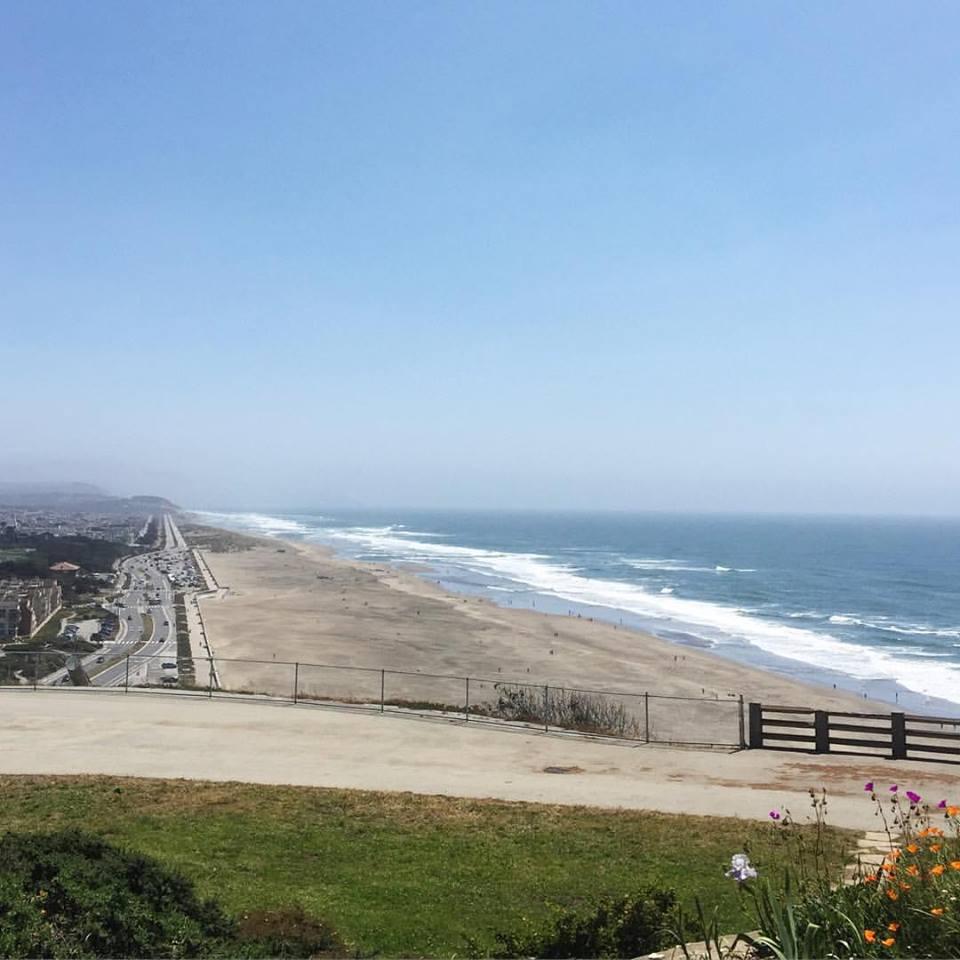 Buenos días Ocean Beach #LOOTontheroad