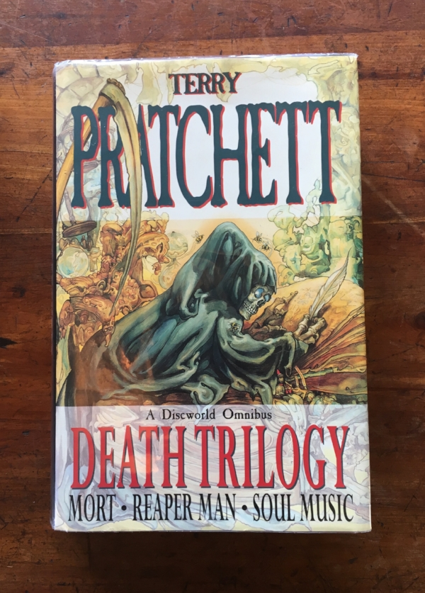 Delightfully disgusting painting (and many of Pratchett's covers) by Josh Kirby