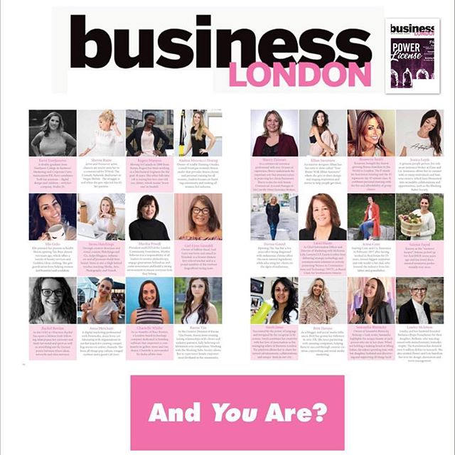 Last month @bizlondonmag dedicated their whole issue to women in business and women professionals and profiled local London business that are owned and operated by women. I felt so honored to have been beside so many talented and hard working women. I wanted to take a moment to highlight all these women in business and this issue that brings to light the issues that women still face in the workplace. The issue was edited by @erika.oakes the founder of @blushingbabessociety she created this society to provide a platform for women in business to feel supported and also part of a larger community. If you haven't seen the issue take a look. And I will link the issue in our profile. #internationalwomensday #womensupportwomen #womeninbusiness #businesswoman @samanthablatnicky @salemefayad_photography @theovermama @_stmnt_ @besocialbuzz