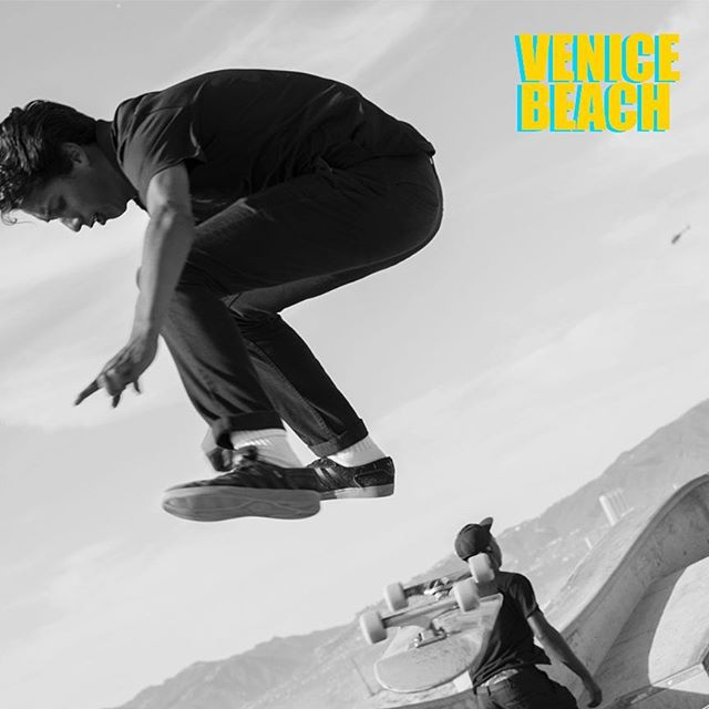 From a #series we shot in #LosAngeles :#skaters at the famed #VeniceBeach #skatepark  #pursuitofleisure #thearbollife #sports #california #pacific