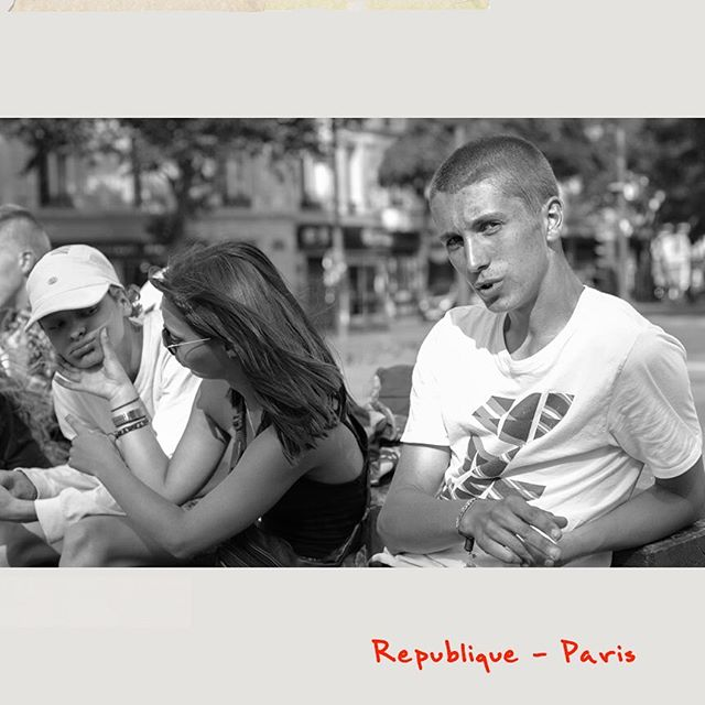 #skaters in the popular #neighborhood of #République in #Paris #france : you can see more from the series  on our website #pursuitofleisure #thearbollife