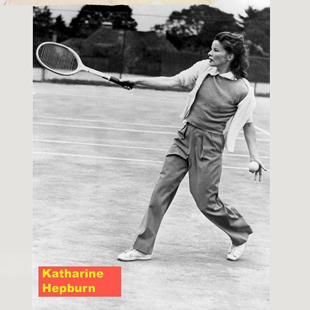 #American #actress #KatharineHepburn refused  to conform to society's expectations of #women She was outspoken , #assertive #athletic and wore #pants before it was cool for women to do so  she died in 2003 at the age of 96 #hollywood #thearbollife #pursuitofleisure