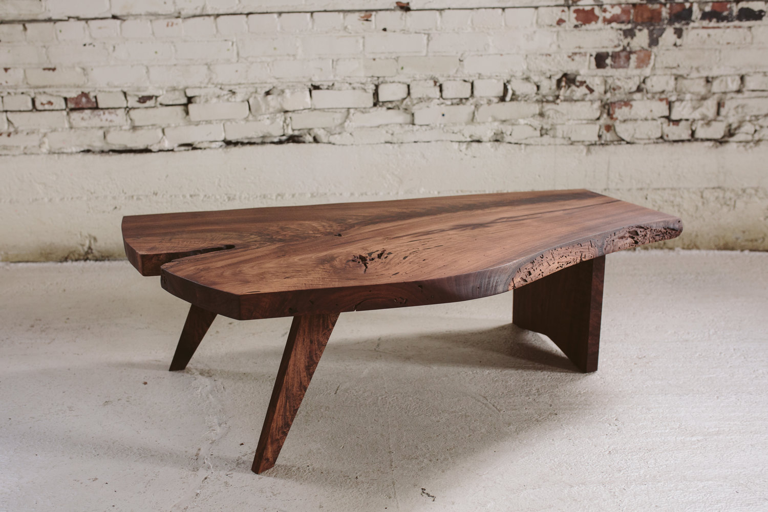 Claro Walnut Coffee Table Nakashima Design Stockton Heritage