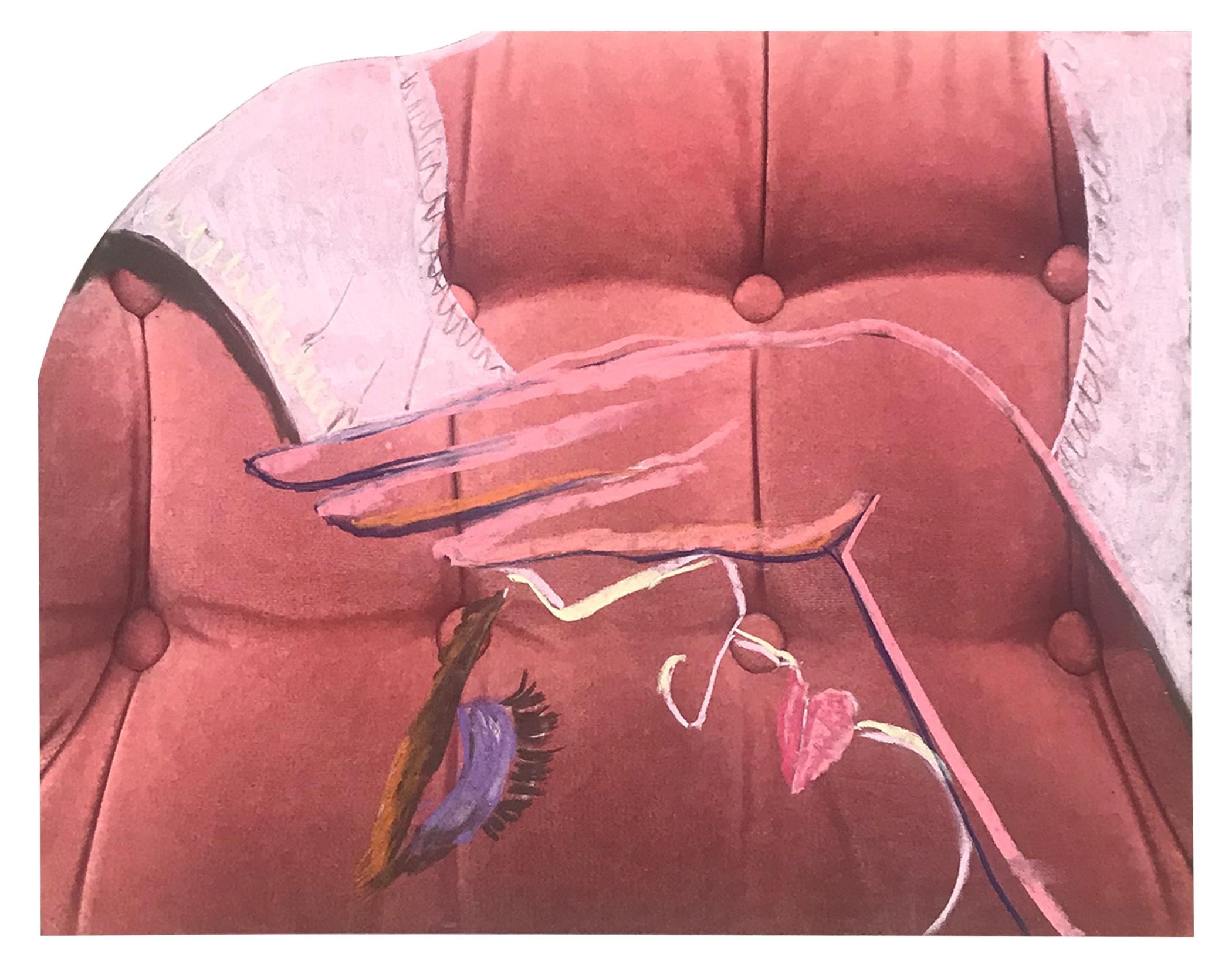 "HEAL ME 8"" x 10"" Chalk Pastel on Archival Inkjet Print $60.00    BUY"