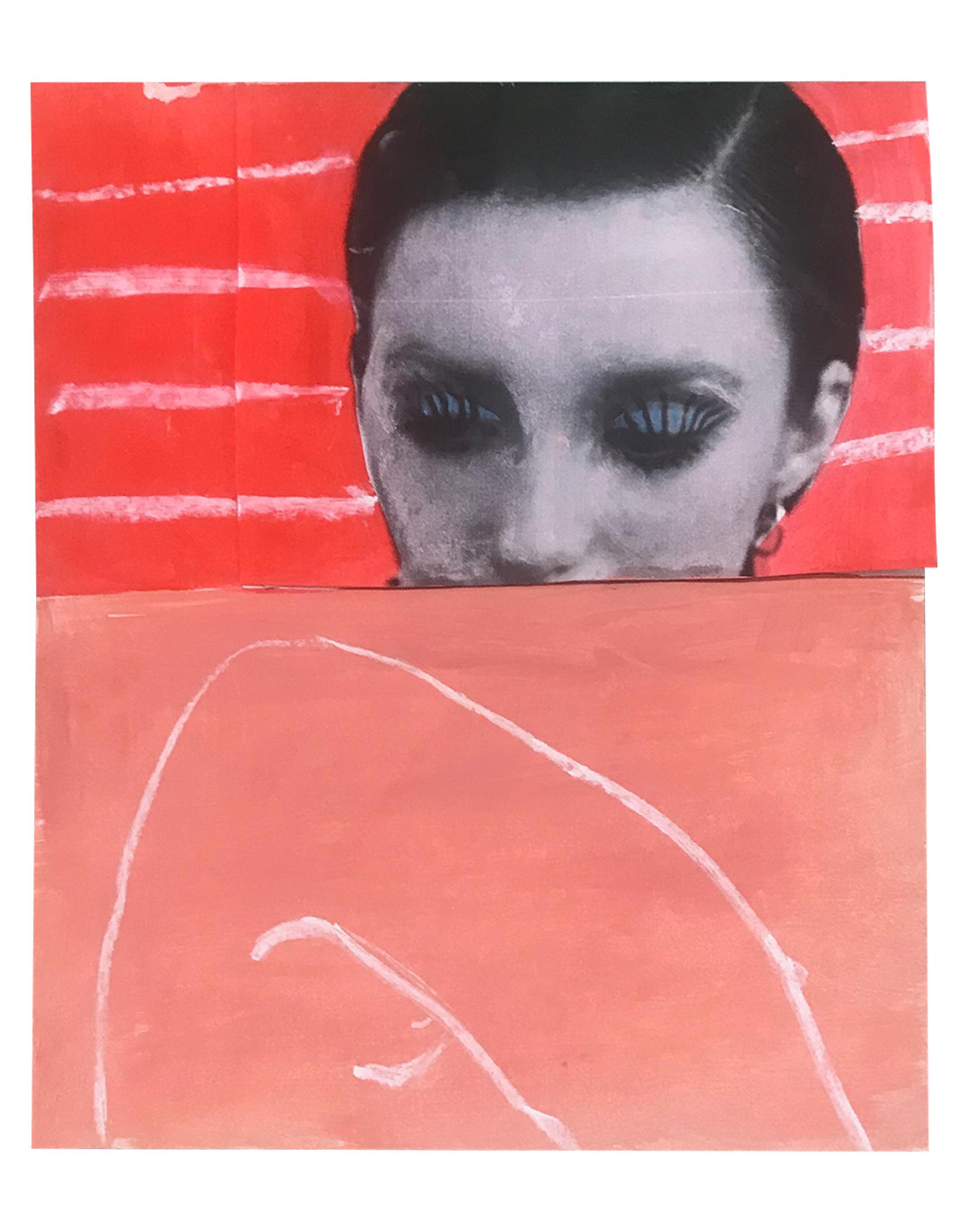 """UNSPOKEN (STUDY) 8"""" x 10"""" Chalk Pastel on Archival Inkjet Print $60.00    BUY"""