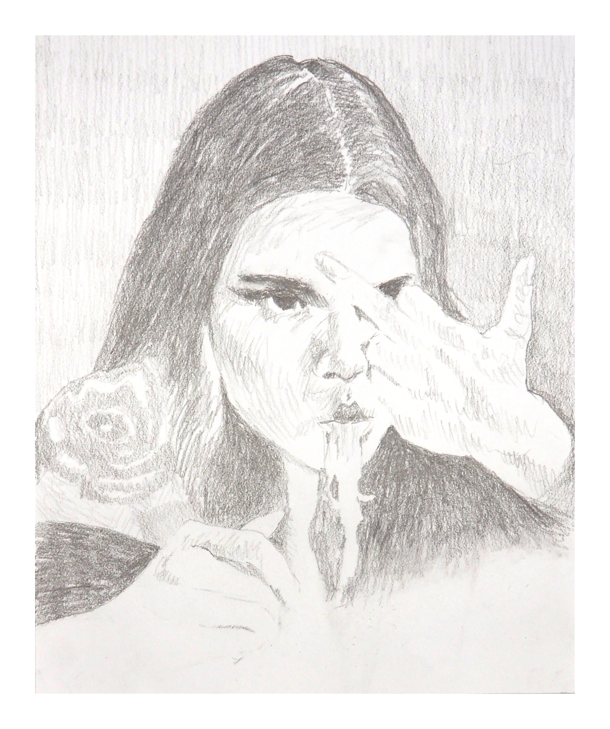 UNTITLED Graphite on Paper