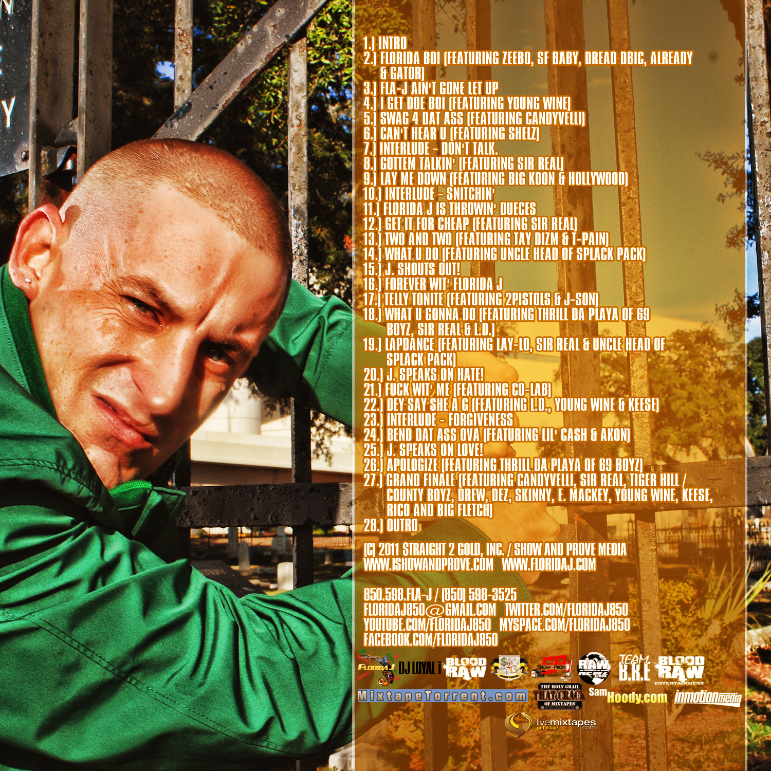 FLORIDA J - Out With The Old, In With The New (Hoested By BLOOD RAW - Mixed By DJ Loyal T) back.jpg