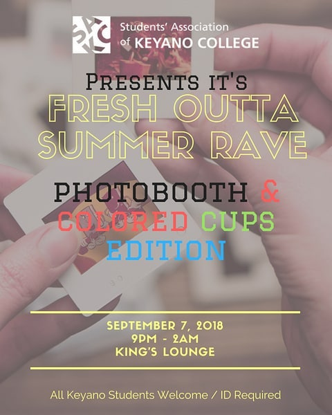 Party! Party! Party!  Make Sure You're There #sakc #keyanocollege #kingslounge
