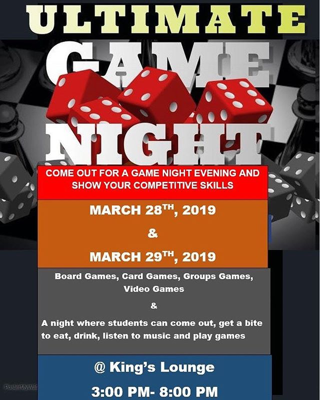 Today's the day.. game night happening from 3-8pm ! & if you miss out .. no worries we'll be back tomorrow from 3-8pm again. See you there !