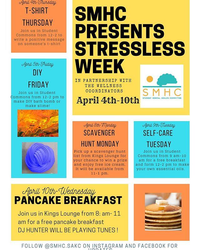 Stress less week is here guys ! Don't miss out on the fun🙌🏽