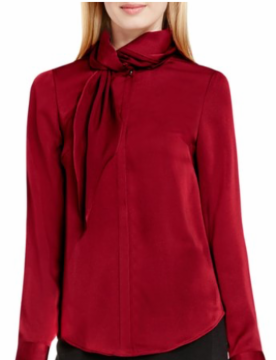 Vince Camuto: A beautiful work blouse for the holiday season