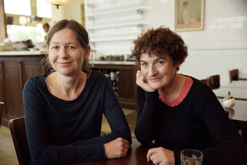Susan Paris and Kate De Goldi