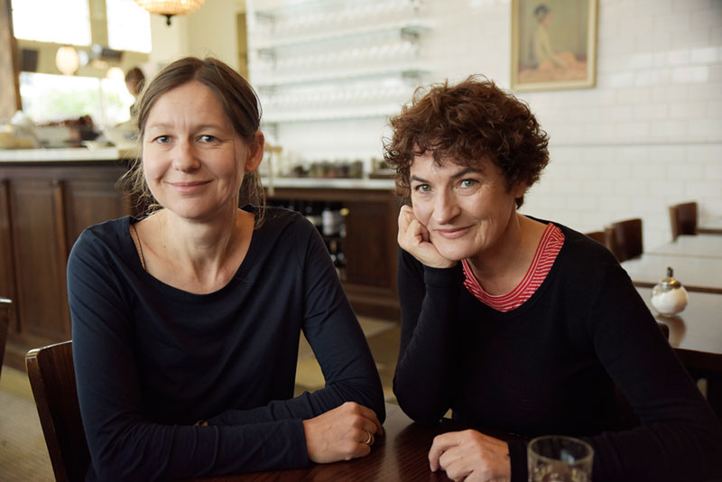 Susan Paris and Kate De Goldi