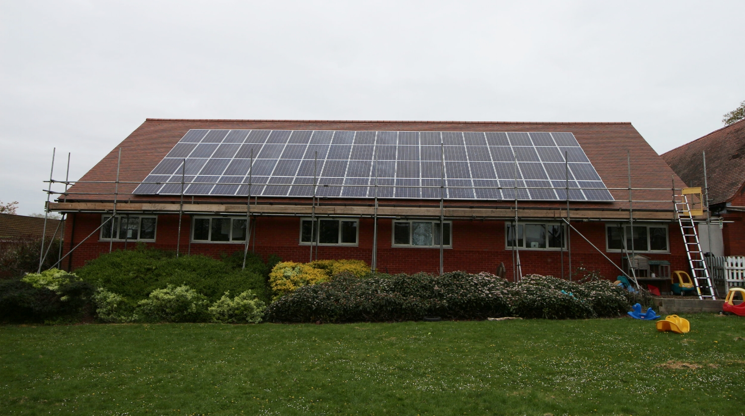 19KWp of Solar PV installed at Heath Hayes Primary Academy