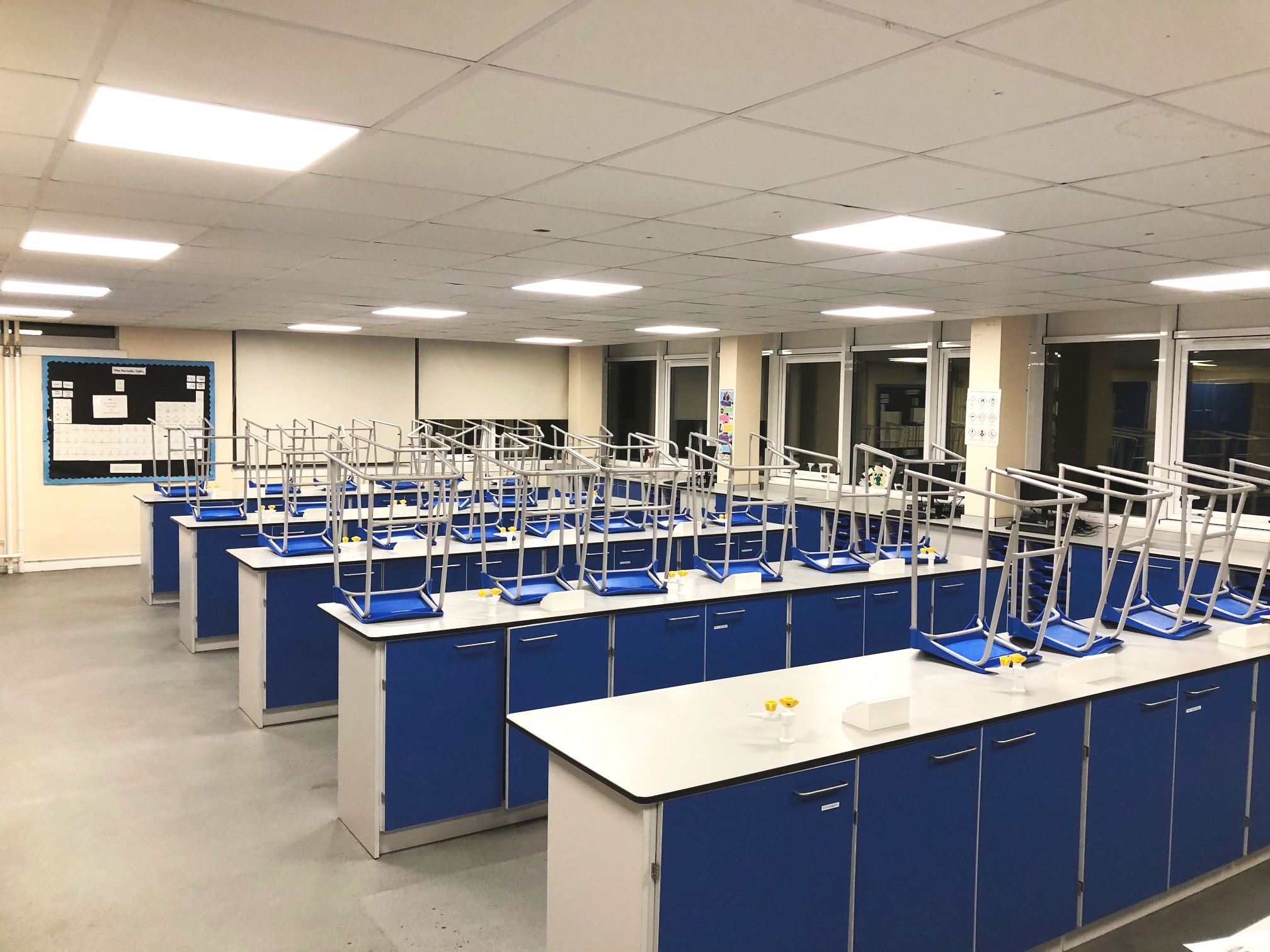 Ramsay Academy - Science Lab completed March 2018