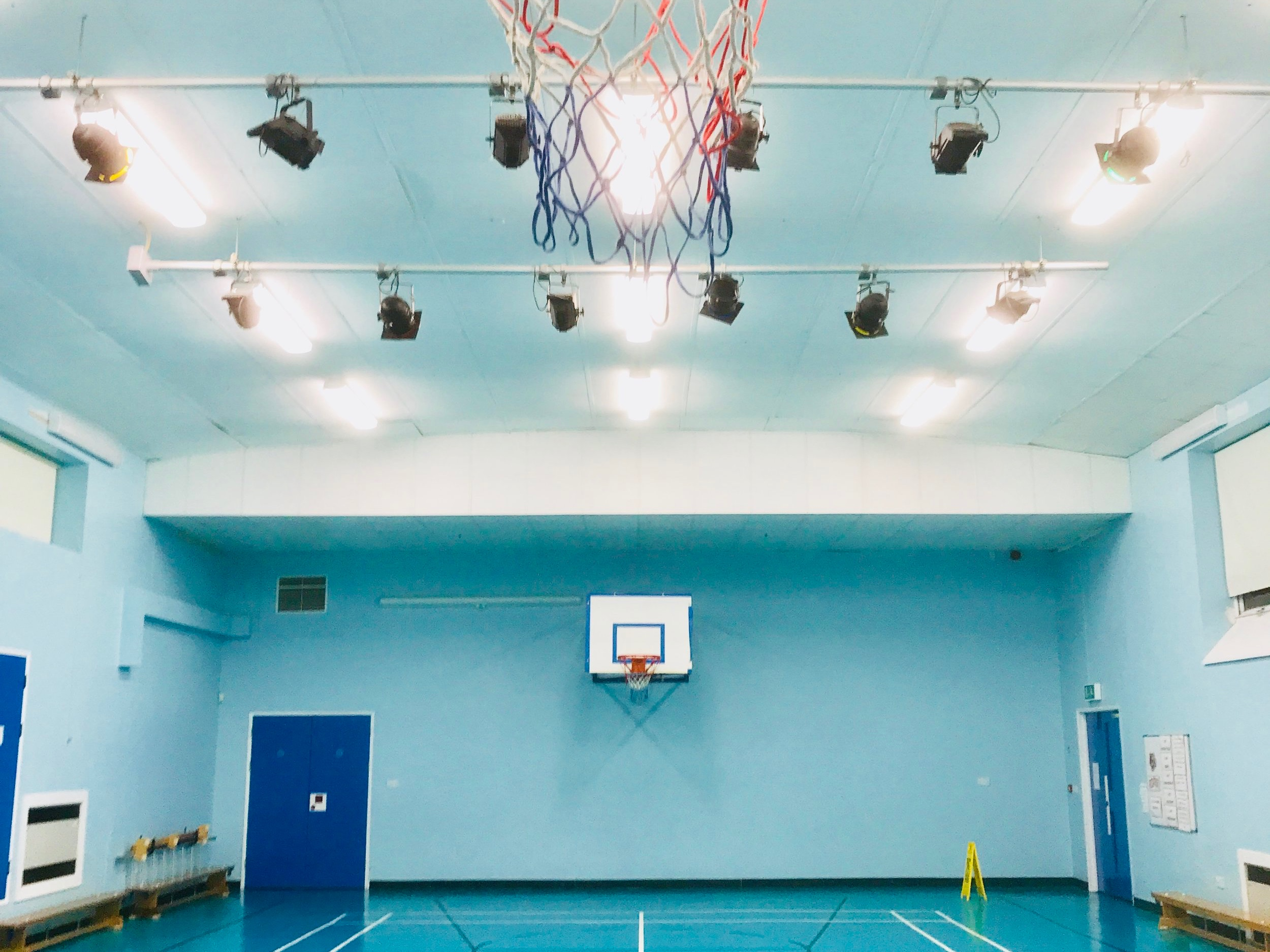 Sports Hall to Sport England Standards
