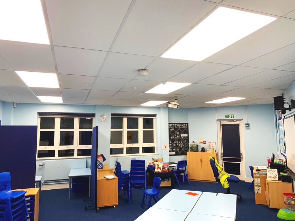 Malmesbury Park Academy LED Lighting Upgrade
