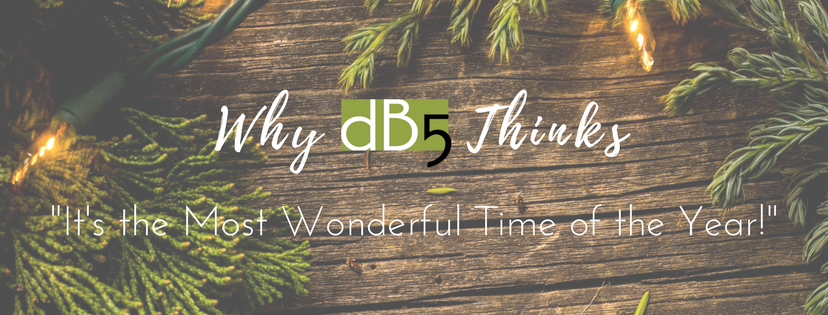 "Done By 5. DB5. Blog ""Why DB5 Thinks 'It's the Most Wonderful Time of the Year!'"""" Virtual Assistants San Francisco Bay Area"
