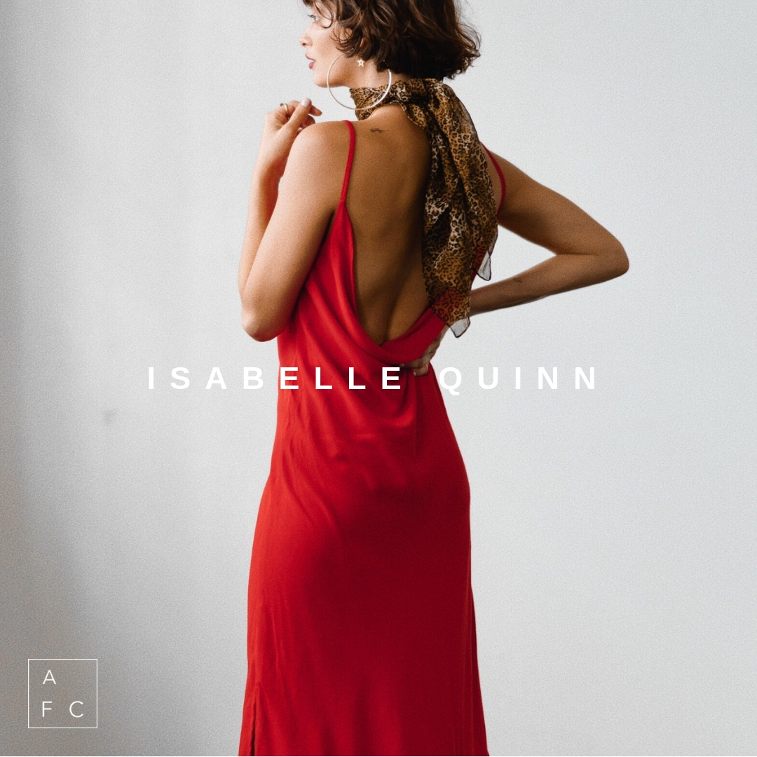 Isabelle Quinn from Queensland delivers forward, wearable pieces that are ever so slightly undone, yet have both grace and guts. Effortless designs that to feel individual, confident and beautiful in, whether it be a wardrobe staple or a show stopper style… -