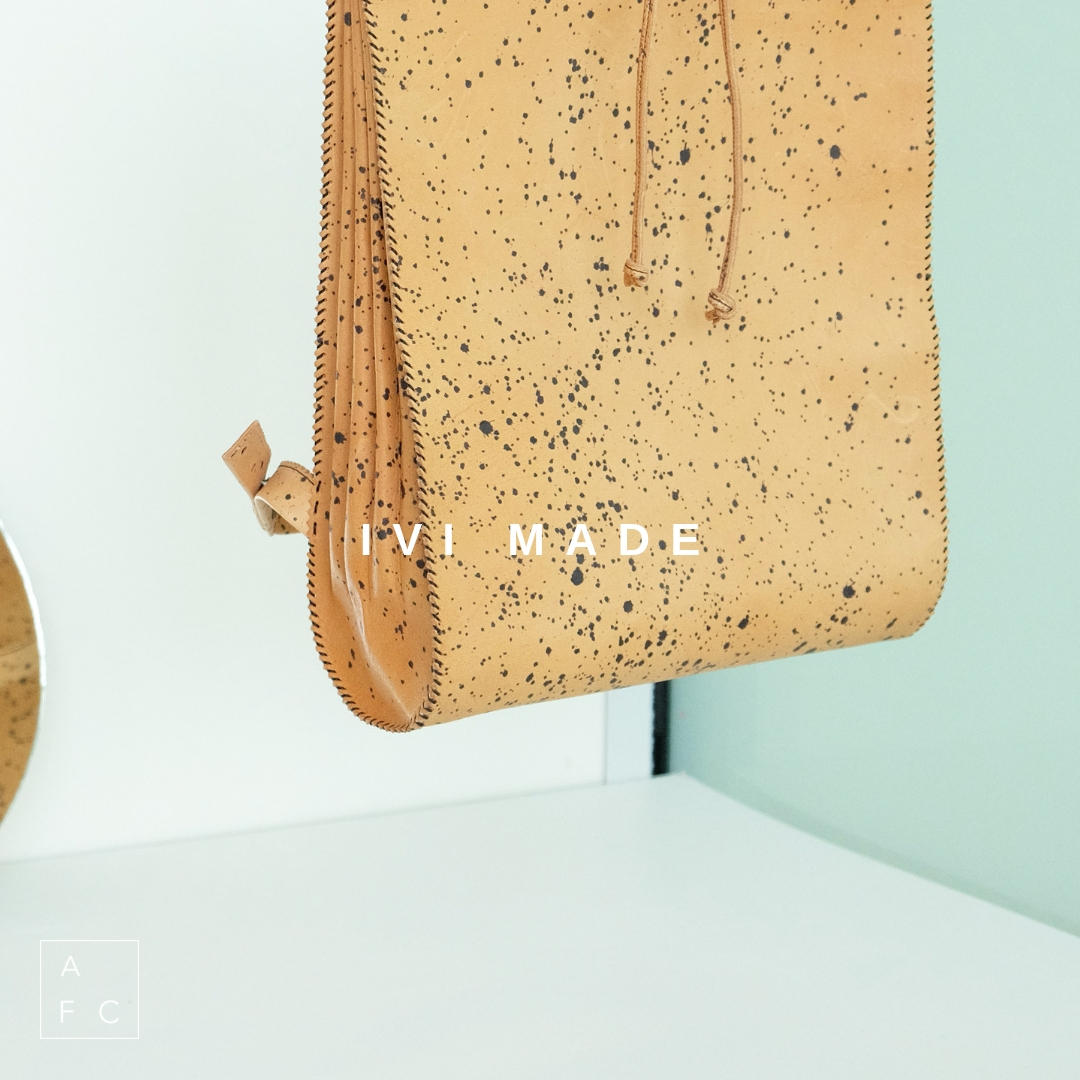Handcrafted in Tasmania by Ivett Dodd (Ivi), Ivi Made designs are created to bring back simplicity and practicality into our everyday objects. Ethical leather accessories for people who love wearing leather and also love making environmentally aware choices… -