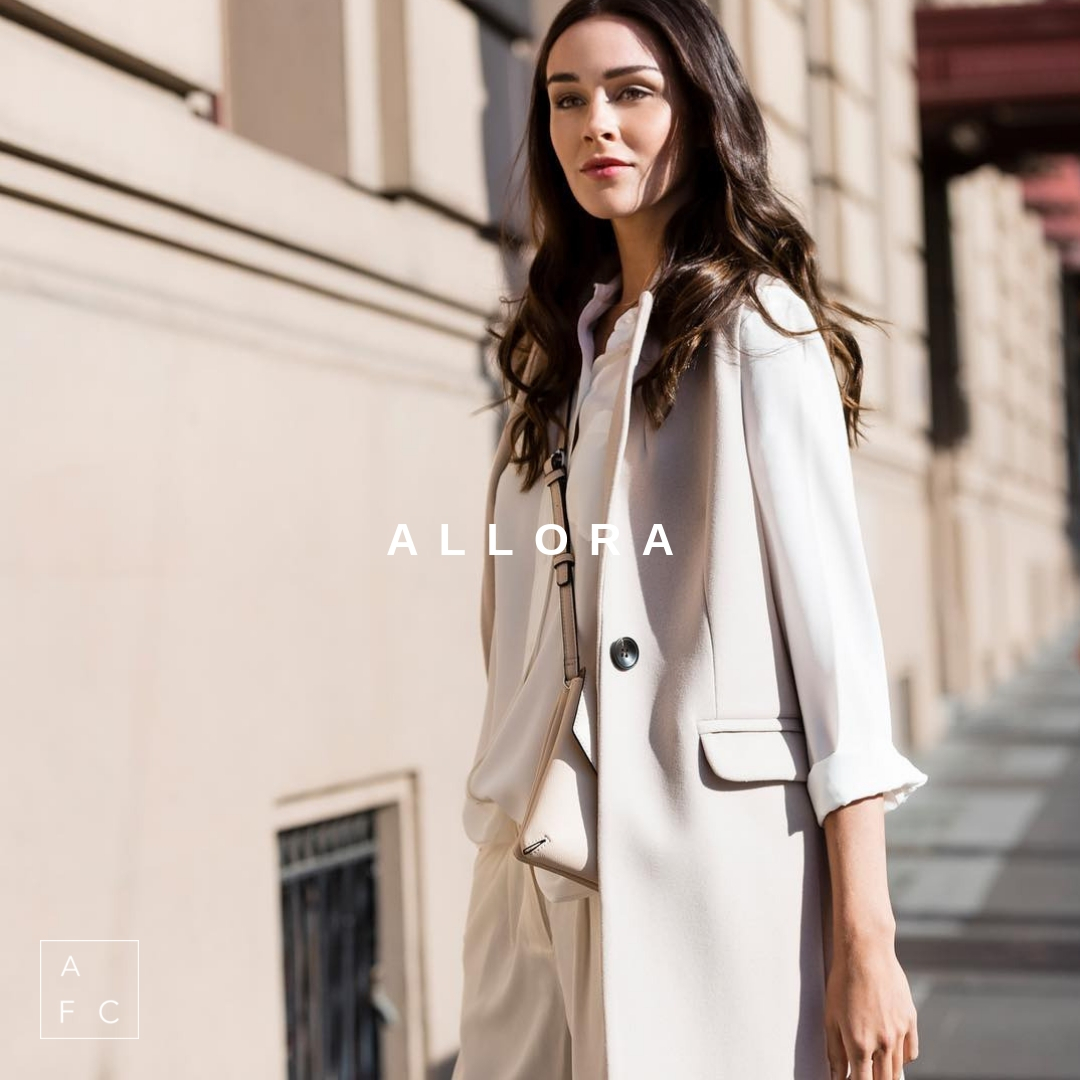 Tailored pieces for a modern yet classic woman who seeks quality pieces in her wardrobe, Allora by Tabatha Brixton is proudly designed and made in Melbourne… -