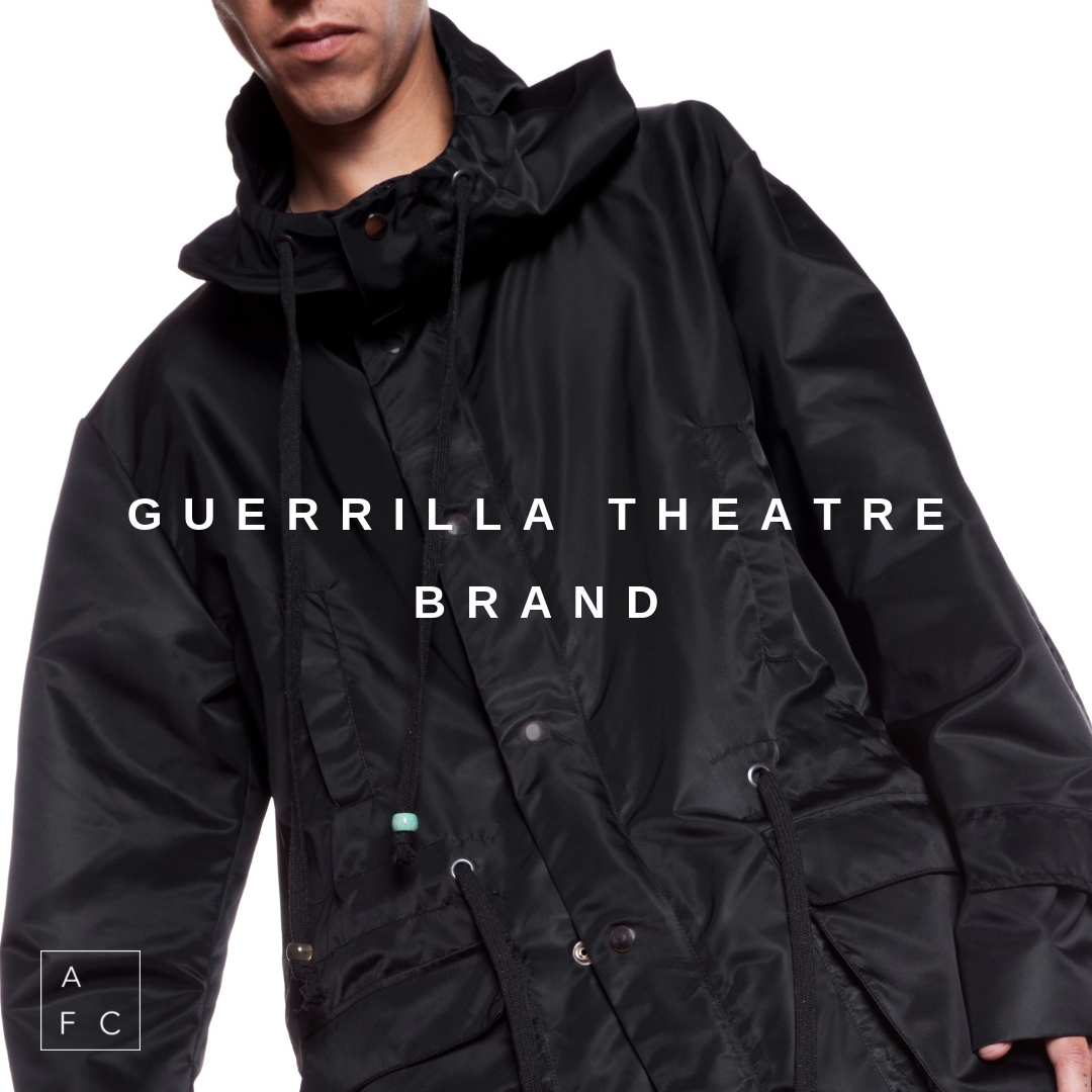 Guerrilla Theatre Brand from Melbourne based designer Paul Stam, is a mythical, multi-layered tale, chronicling visions of the future that find life not only on the page and screen but seamlessly through fashion that is wearable art… -