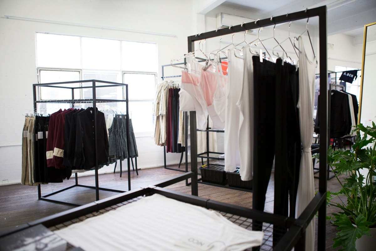 afc curated pop up australian fashion