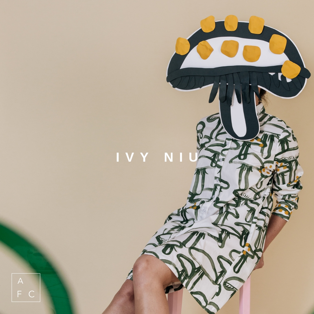 May 26th | 2-4pm | Ivy Niu  - Meet Queensland based designer Ivy Niu.