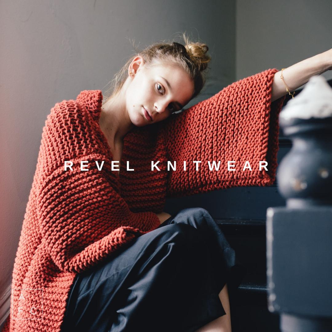 May 26th | 2-4pm | Revel Knitwear - Meet Victorian based designer Shannyn Lorkin.