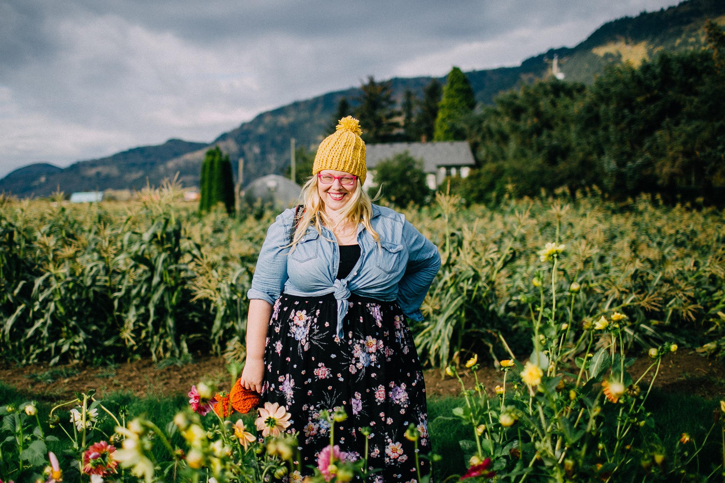 Fabulous hat by Rock n' Wool! Photo by Jennifer Ault