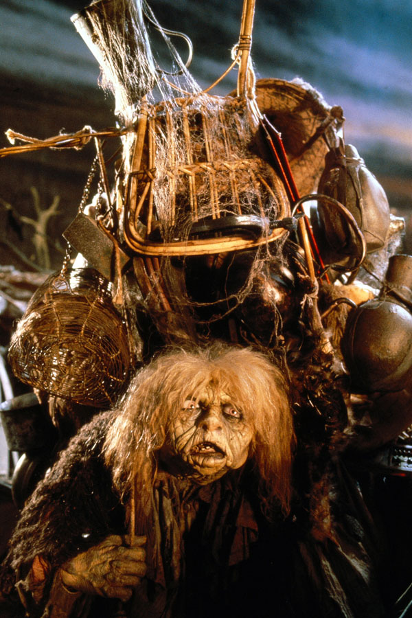 """From """"Labyrinth"""", 1986. This is 100% the character I would be in the Labyrinth. She had some great stuff."""