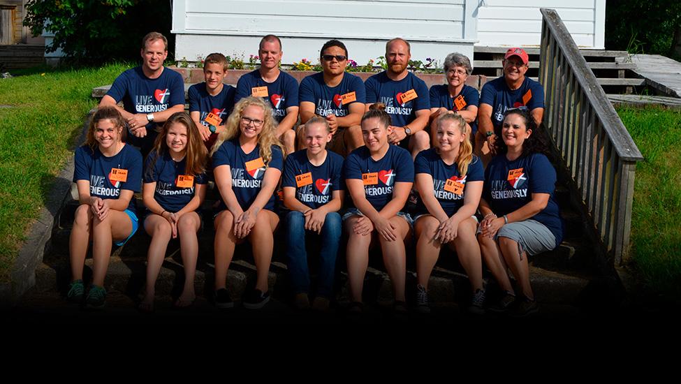 Old Hazelton, B.C., Team