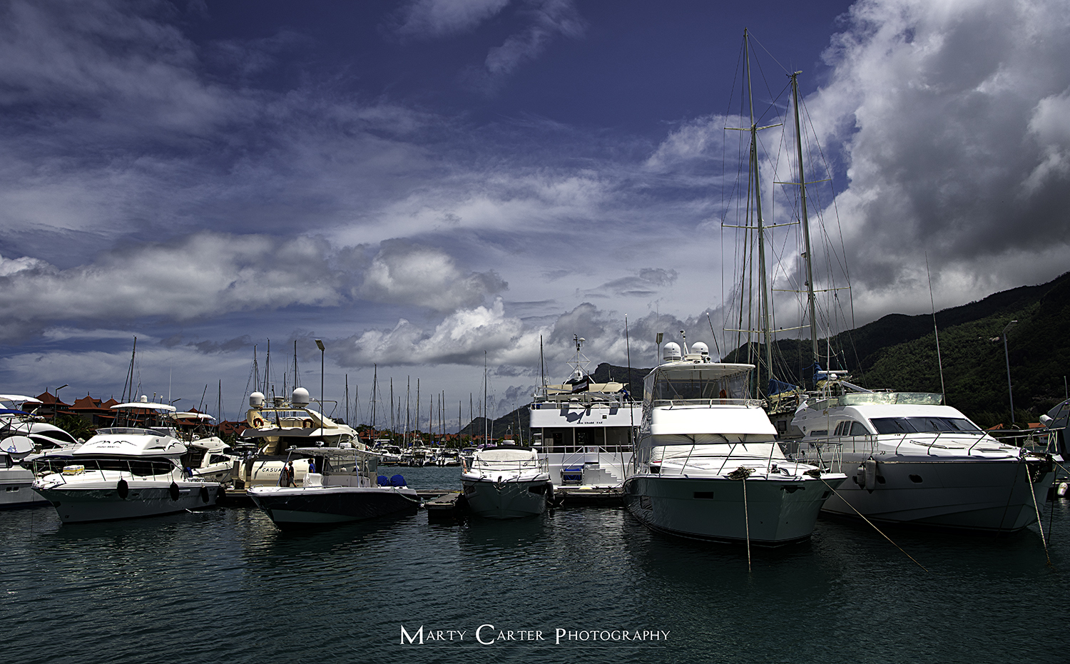 Luxury boats in harbour.jpg
