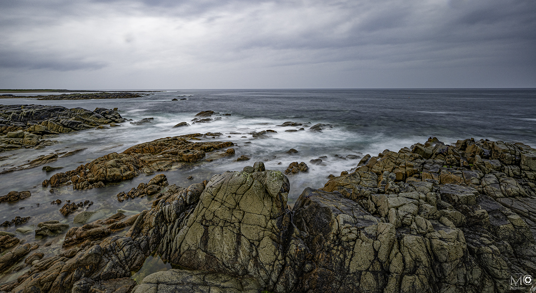 Across the rocks near Fanad Lighthouse, Letterkenny, Co. Donegal, Ireland