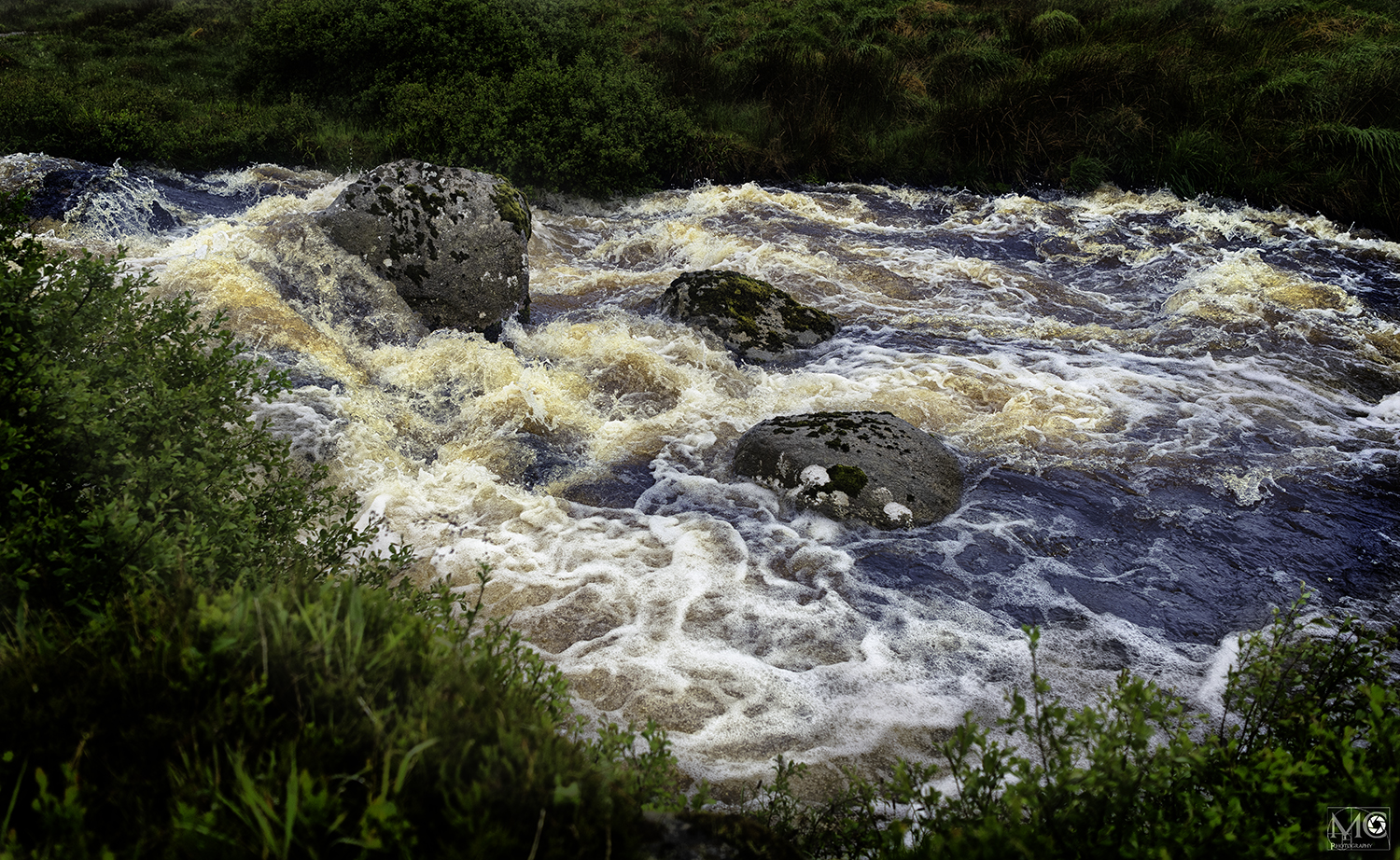 A river after the rain in in Co. Donegal, Ireland.