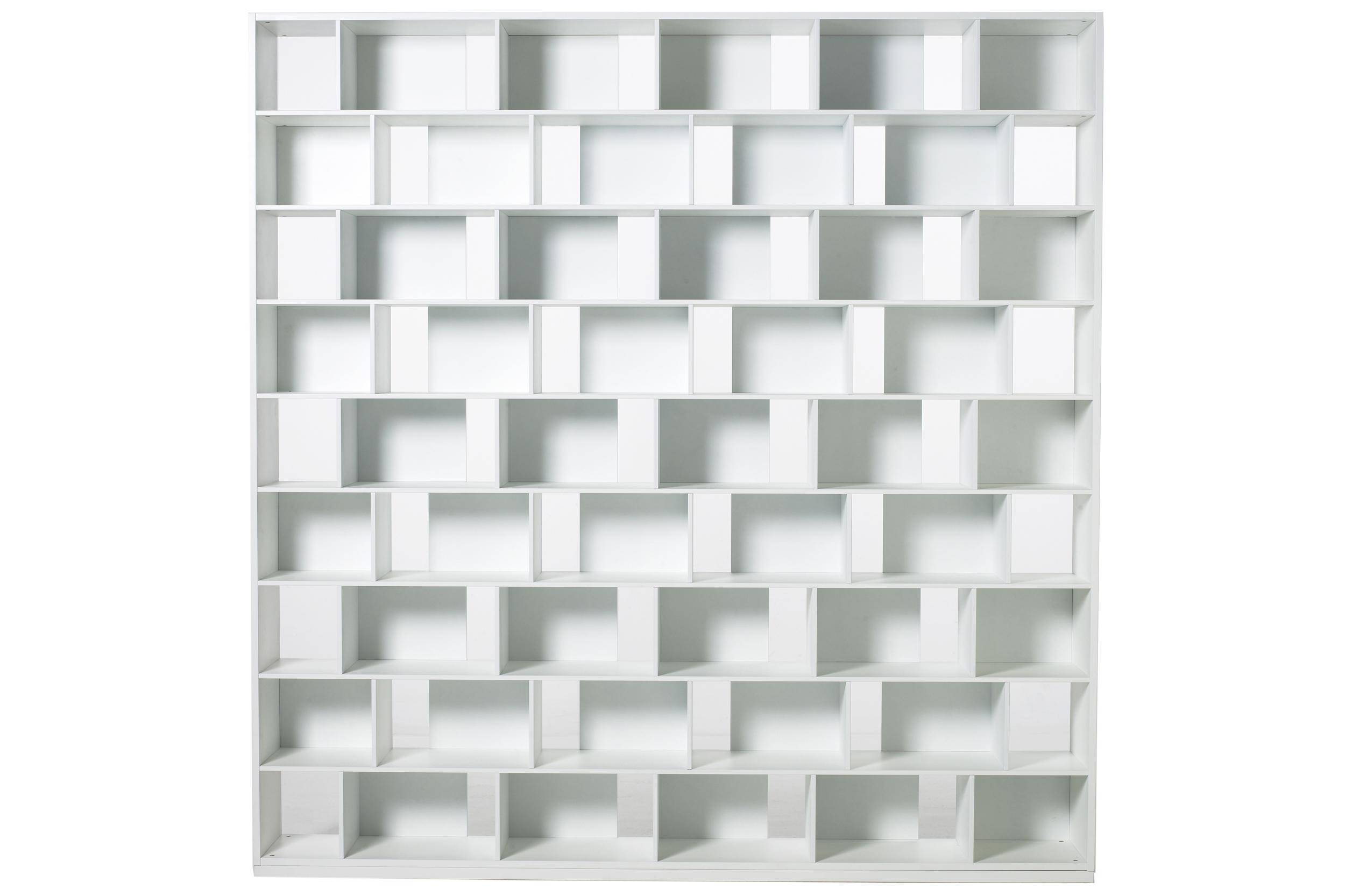 Habitek Samarkand bookcase in white