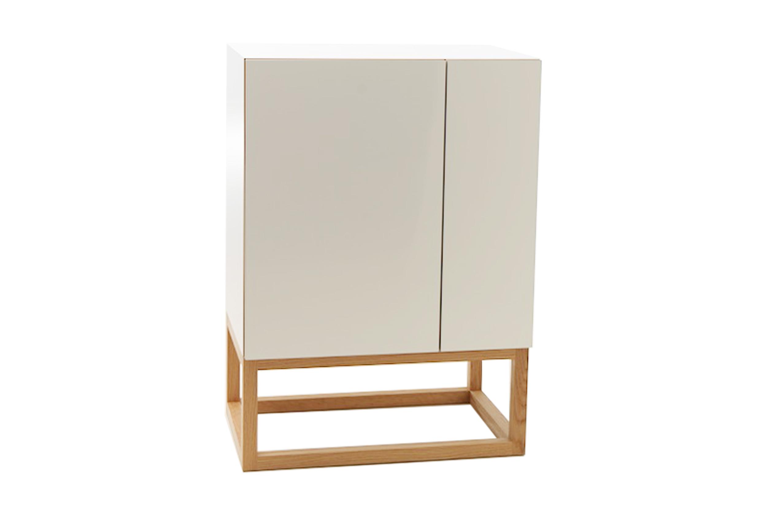 Habitek Stripe cabinet in white